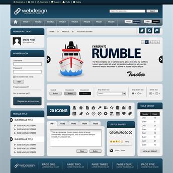 Website online web design ship boat