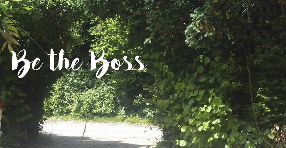 be the boss blackberry wood