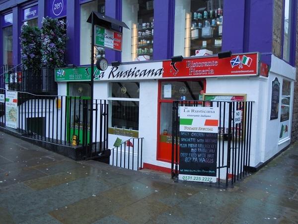 Buy A Popular Italian Restaurant Edinburgh City Centre