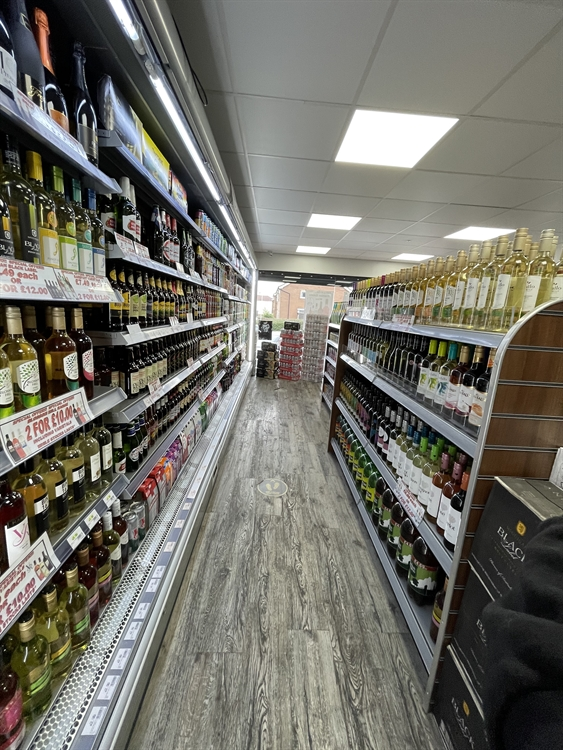 convenience store with off-license - 8
