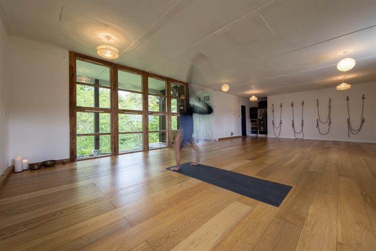 well established yoga retreat - 11