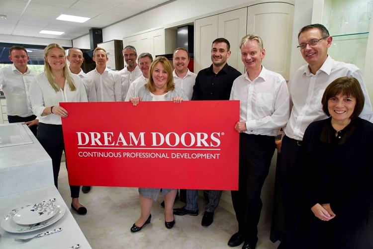 dream doors kitchen makeover - 7