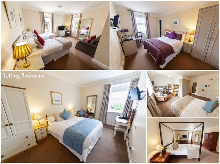 charming 13-bedroom hotel situated - 13