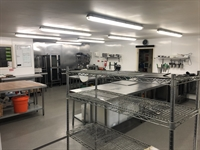 commercial production kitchen warehouse - 1