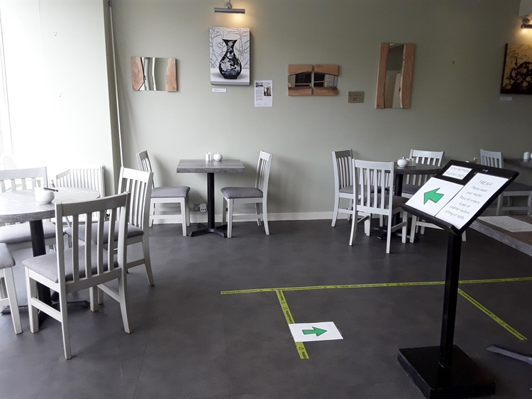 exceptionally modern attractive cafe - 5
