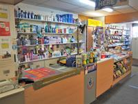 convenience store with post - 3