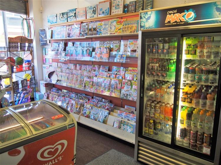 convenience store with post - 6