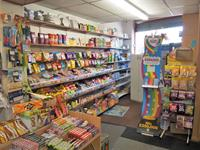 convenience store with post - 2