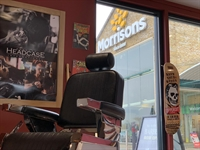 morrisons headcase barber pod - 2