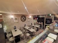 immaculate refurbished café evening - 2