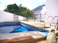 Pool area-Hacho in background