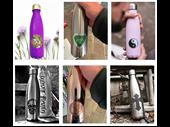 trendy re-usable water bottle
